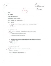 Exam 1 Review with Answers