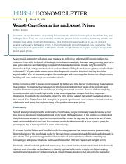 Worst-Case Scenarios and Asset Prices .pdf