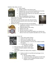 Lecture 2 notes - Late Roman Empire II