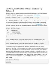 APPEND_VALUES Hint in Oracle Database 11g .docx
