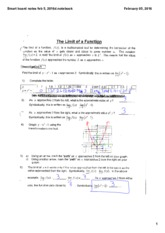 Limit of a Function - board notes.pdf