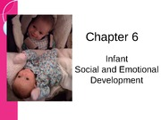 Chapter 6 - Infant Social and Emotional Development Sp12 BB-1