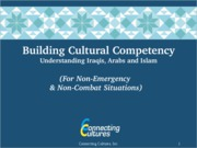 Building Cultural Competency