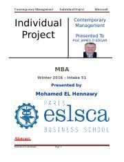 Management Individual Project  2016.docx