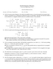 EE 170A Midterm