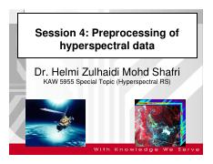 Lect 4 preprocessing of hyper data 2