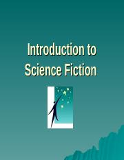 introduction to science fiction.ppt
