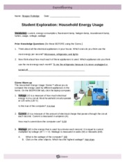 2.3 Household Energy Use