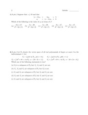 MATH 20580 Fall 2011 Exam C Solutions