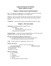 LEB.Study Guide.Test 1.09.28.2010(1)