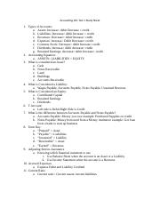 Accounting 201 Test 1 Study Sheet.docx