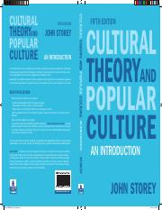 Storey - Cultural Theory Popular Culture