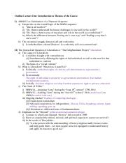 Outline Lecture One--Introduction to Themes of the Course.docx