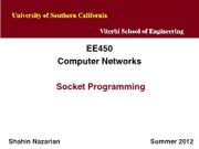 EE450-U4-SocketProgramming-Nazarian-Summer12