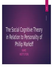 The Social Cognitive Theory in Relation to Personality.pptx