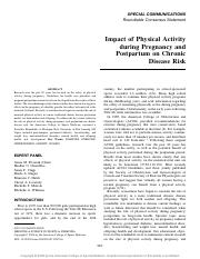 impact of physical activity during pregnancy and postpartum on chronic disease risk.pdf