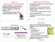 topic14SearchingAndSimpleSorts_4Up
