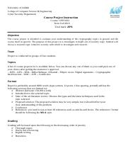 Course Project-CPIS 603.doc