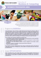 ITB Business Leaflet