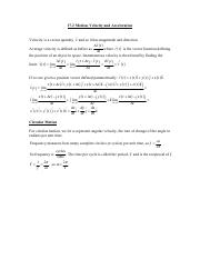 17.2 Motion Velocity and Acceleration.pdf