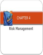 Chapter 4 Risk Mgmt - instructor.pptx