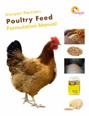 How To Make Chicken Feeds pdf - MAKING YOUR OWN FEEDS With