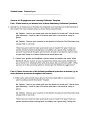 F. Lyon Seminar 4-6 Engagement and Learning Reflection Template.docx