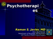 Psychotherapy (Javier).ppt