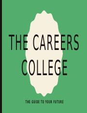 The careers college assignment for Psyc 1300 spring 2016.pptx