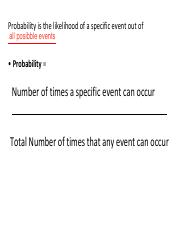 Probability Lecture _1