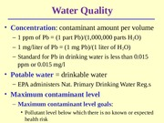 Lecture 7 - Water Pollution