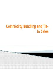 9-Bundling and Tie-In Sales