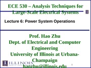 ECE530 Fall 2014 Lecture Slides 6