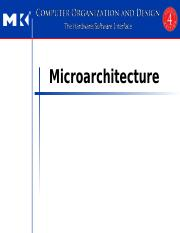 fall 2016 lecture 6 and 7 microarchitecture
