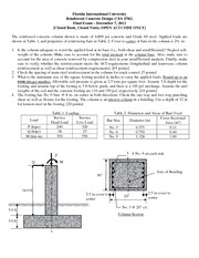 Final Exam Fall 2012 Solution on Reinforced Concrete Design