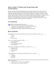 Biology Chapter 1.2 Study Guide.doc
