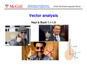 Ch1 Vector analysis