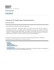 Learning unit 10- Pleading stage- Drafting applications.pdf