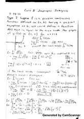 Improper Integrals Calc