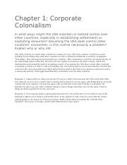 Discussion 1- Corporate Colonialism .docx