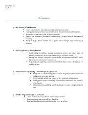 Resume of DC Revised