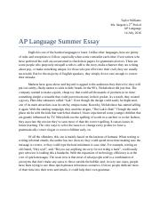 ap lang summer assignment glass castle Ap language and composition home assignments resources about contact intriguing summer assignment summer assignments turnitincom remindcom annotated.