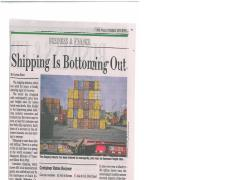WSJ Shipping is Bottoming Out.pdf