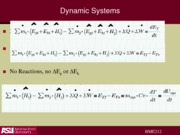 Lecture 6 dynamic energy systems