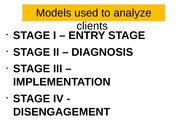 5. Model used by consultant
