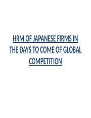 HRM-JAPANESE FIRMS.pptx