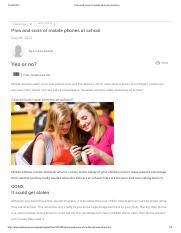 Pros and cons of mobile phones at school.pdf