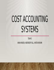 ACC 561 WEEK 4 COST ACCOUNTING SYSTEMS-2.pptx