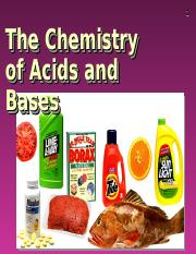 Acids and Bases 2011