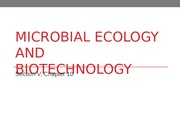 10 Microbial Ecology and Microbial Biotechnology.ppt
